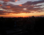 Sofia Bulgaria sunset business climate photo Clive Leviev-Sawyer