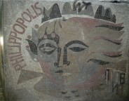 Mural in an underpass in Plovdiv by Yoan Leviev