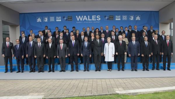 Family portrait - NATO Wales Summit
