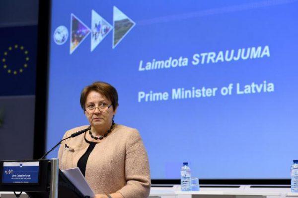 Laimdota Straujuman.  Photo: EC Audiovisual Service