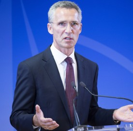 Jens Stoltenberg takes up office as NATO Secretary General - Press Conference and Press Reception