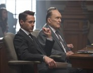 Still of Robert Downey Jr. and Robert Duvall in The Judge. © 2014 - Warner Bros. Pictures/Village Roadshow Pictures