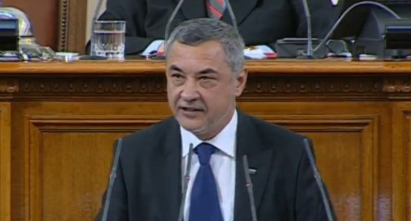Patriotic Front co-leader Valeri Simeonov