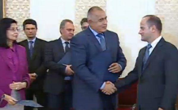 boiko signing handshake