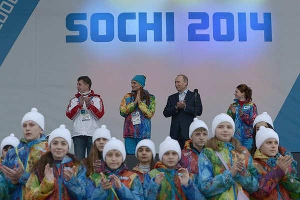 Russian president Vladimir Putin hoped for a propaganda triumph from the Olympics in Sochi in January 2014, notwithstanding the campaign to boycott over the Putin Kremlin's human rights record. But Sochi would recede to trivia as Putin's actions in the months ahead brought global condemnation of Russian actions. Photo: kremlin.ru