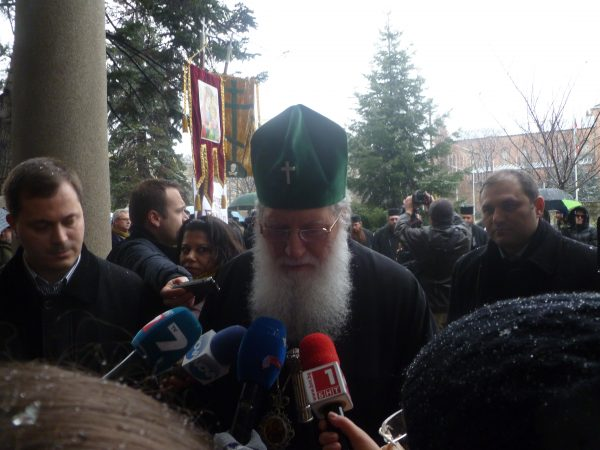 boc dionisii protest 2 Patriarch Neofit
