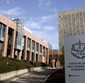 General view of the buildings of the Court of Justice of the European Communities