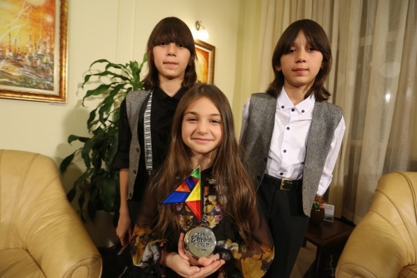 But the defeat of Pulev was outweighed in national emotions when Krisiya, Hassan and Ibrahim came in second in Junior Eurovision, the country's best performance in the European song contest. The trio were lionised on their return, with - among other things - being received by the President and being given a standing ovation in the National Assembly.