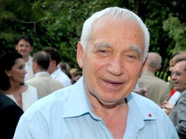 Former president Zhelyu Zhelev, photographed in July 2012 by Clive Leviev-Sawyer