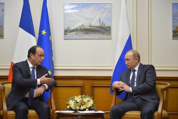 hollande and putin