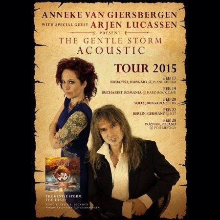 Arjen Lucassen and Anneke van Giersbergen