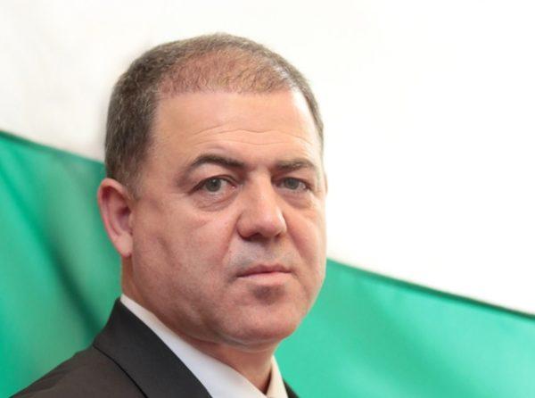 Bulgarian Defence Minister Nikolai Nenchev.