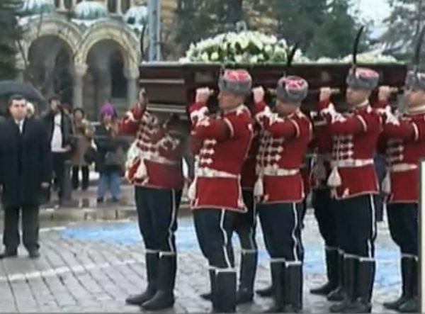 Zhelev funeral 1