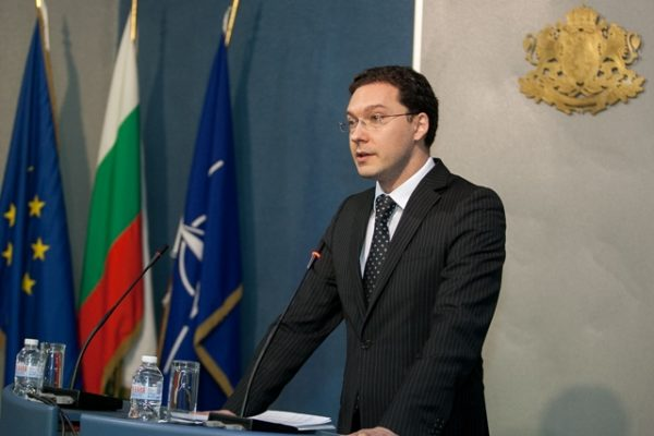 Bulgarian Foreign Minister Daniel Mitov.
