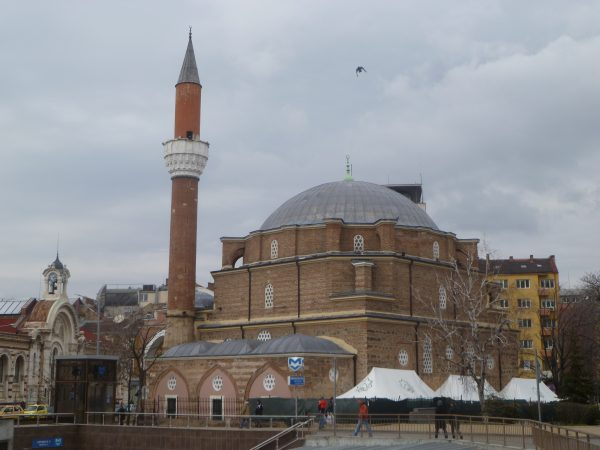 The Banya Bashi mosque, Sofia, Bulgaria. Photo: (c) Clive Leviev-Sawyer