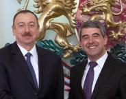 Bulgarian president Rossen Plevneliev, right, with his Azeri counterpart Ilham Aliev in Sofia on March 4 2015. Photo: president.bg