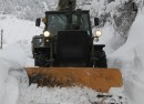 Snow photo Bulgarian ministry of defence