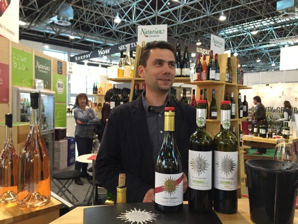 Terra Tangra winemaker Dimo Hadjiev