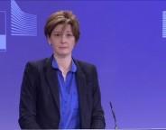 EC spokesperson for economic and financial affairs Annika Breidthardt. Photo: EC audiovisual service