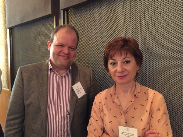 Christophe Sepulveda and Sylvia Taskova