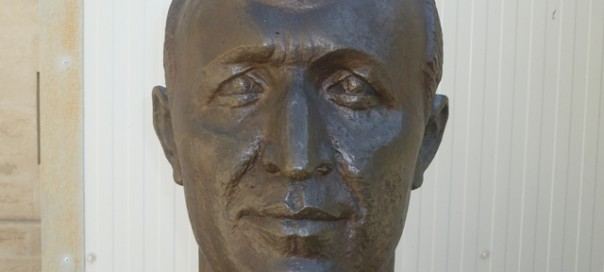 Bust of Todor Zhivkov at the Museum of Socialist Art Sofia Bulgaria photo copyright Clive Leviev-Sawyer The Sofia Globe