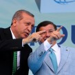 erdogan and Davutoglu photo akp party