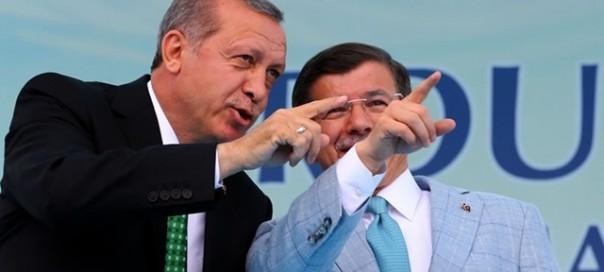 erdogan and Davutoglu photo akp party