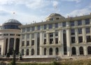foreign ministry and financial police buildings skopje macedonia-crop