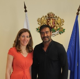 angelkova and bollywood star ajay devgan
