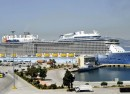 cruise liner greece