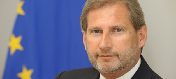 Johannes Hahn, Member of the EC in charge of Regional Policy