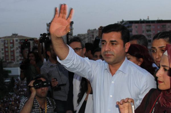 Selahattin Demirtas, who heads the pro-Kurdish Peoples' Democratic Party