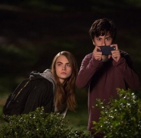 Still of Nat Wolff and Cara Delevingne in Paper Towns. Photo by Michael Tackett - © 2015 - Twentieth Century Fox Film Corporation