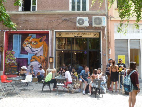 Kotka i Mishka bar, Kapana district, Plovdiv. Photo: Clive Leviev-Sawyer