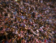 crowd of people photo Abdulhamid AlFadhly freeimages com