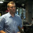 Russian opposition blogger Alexei Navalny