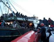 The Italian Coast Guard rescues migrants bound for Italy File photo.Francesco Malavolta IOM 2014