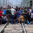 refugees migrants macedonia ibna