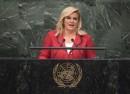 Kolinda Grabar Kitarovic President of the Republic of Croatia Photo UN Photo Cia Pak