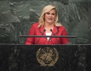 Kolinda Grabar Kitarovic President of the Republic of Croatia Photo UN Photo Cia Pak
