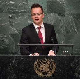 hungarian foreign minister peter szijjarto photo un photo cia pak