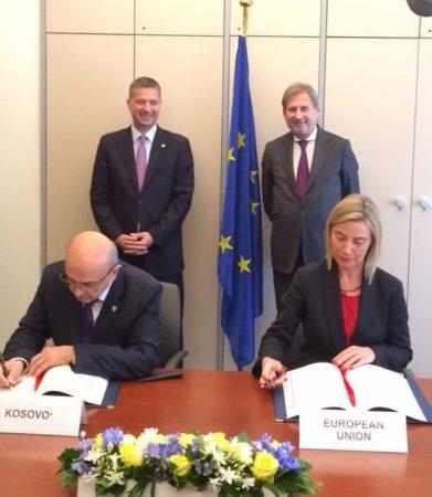 kosovo mogherini saa signing