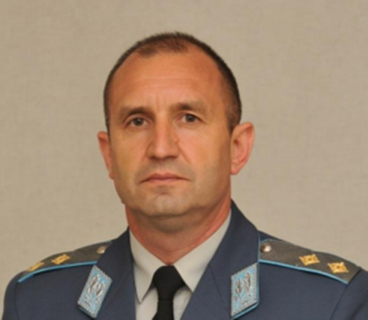 Roumen Radev, elected by the BSP as its presidential candidate, after being chief of the Bulgarian Air Force for two years. No doubt, Radev - who after quitting lashed out at his former political masters, is the very model of a modern Major-General, with information vegetable, animal, and mineral