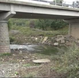 sredets bridge migrant shot