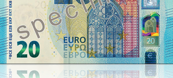 new 20 euro note goes into circulation on november 25 the sofia globe. Black Bedroom Furniture Sets. Home Design Ideas