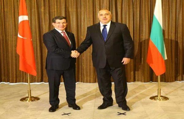 Davutoglu Borissov