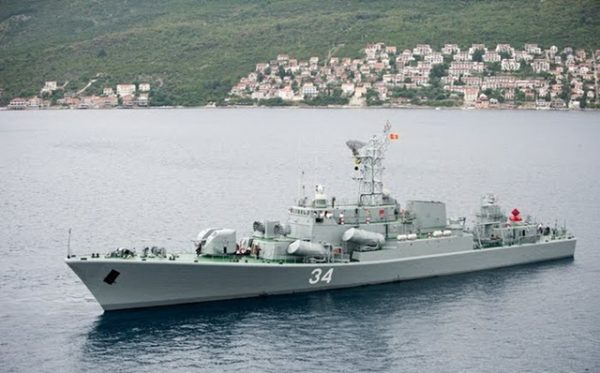 Montenegro navy Kotor-class frigate P34 photo by Rabooka
