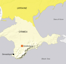 ukraine crimea map voa