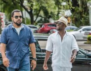 Still of Ice Cube and Kevin Hart in Ride Along 2. Photo by Quantrell D. Colbert - © Universal Pictures