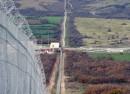 fence at bulgarian turkish border-crop